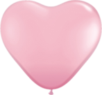 Mooideco - Roze hart ballon