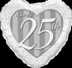 Mooideco - 25 folie hart grijs
