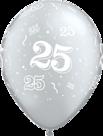 Mooideco - zilveren 50 ballon