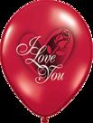Mooideco - Rode I love you ballonnen