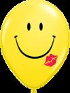 Mooideco - Smiley en kus ballonnen