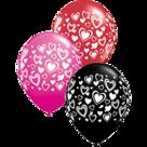 Mooideco - Hartjes mix ballonnen