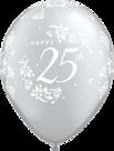 Mooideco - Zilveren 25 ballonnen