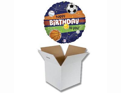 Cadeauballon verjaardag sport