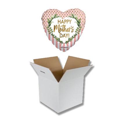 UITVERKOCHT Cadeauballon Happy Mothersday Rosegold