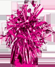 Ballongewicht folie donker Roze (4stuks)