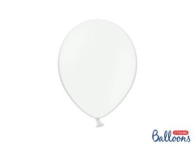 28 cm Ballonnen Strong Balloons Pastel White