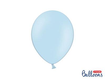 28 cm Ballonnen Strong Balloons Pastel Baby Blue