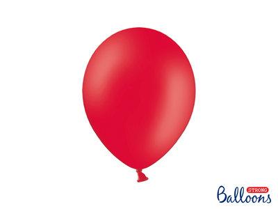 28 cm Ballonnen Strong Balloons Poppy Red