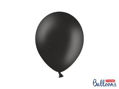 28 cm Ballonnen Strong Balloons Black