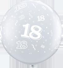 90 cm ballon Qualatex 18 crystal diamond clear