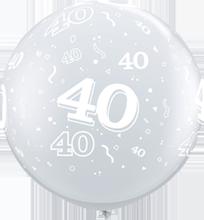 90 cm ballon Qualatex 40 crystal diamond clear