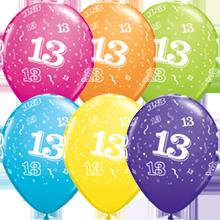 28 cm ballonnen Qualatex 13