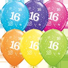 28 cm ballonnen Qualatex 16