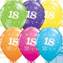 28 cm ballonnen Qualatex 18