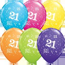 28 cm ballonnen Qualatex 21