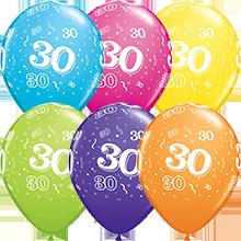 28 cm ballonnen Qualatex 30