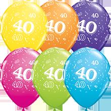 28 cm ballonnen Qualatex 40