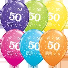28 cm ballonnen Qualatex 50