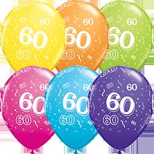 28 cm ballonnen Qualatex 60