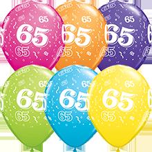 28 cm ballonnen Qualatex 65