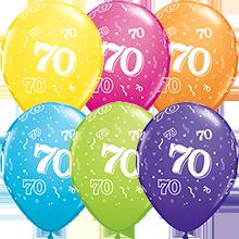 28 cm ballonnen Qualatex 70