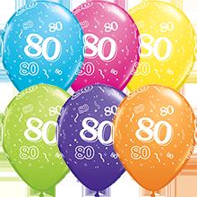 28 cm ballonnen Qualatex 80