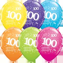 28 cm ballonnen Qualatex 100
